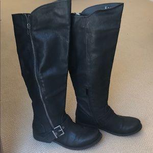 Carlos Santana Black Boots